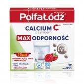 Calcium C z cynkiem, Polfa Łódź, 12 tabletek musujących