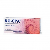 NO-SPA 40mg, 20 tabletek
