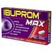 Ibuprom MAX 400mg, 12 tabletek