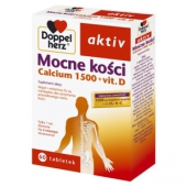 Doppelherz Aktiv, Mocne kości, 60 tabletek