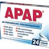 Apap, 24 tabletki