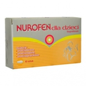 Nurofen, 60 mg, 10 czopków