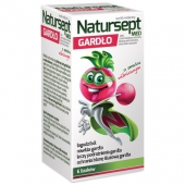 Natursept MED gardło lizaki, o smaku wiśniowym, 6 sztuk