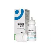 Hyabak 0,15%, hypotoniczne krople do oczu, 10ml