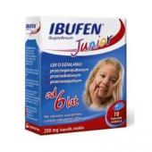 Ibufen Junior, 200 mg, 10 kapsułek