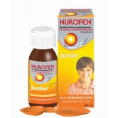 Nurofen Junior, zawiesina doustna dla dzieci, smak pomarańczowy, 100ml