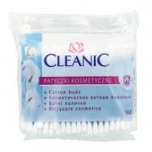CLEANIC, patyczki higieniczne, folia, 100 sztuk