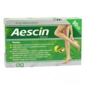 Aescin 20mg, 90 tabletek