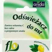 Anida Flo, odświeżacz do ust miętowo - cytrynowy, 5ml