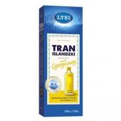 Tran LYSI, cytrynowy, 240ml