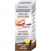 Biała Perła Bez Przebarwień, dla pijących kawę, pasta do zębów, 75ml