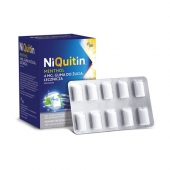 NiQuitin 4mg, mięta, 100 gum do żucia