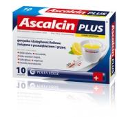 Ascalcin Plus Cytrynowy, 20 saszetek