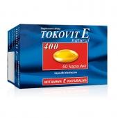 Tokovit E natural 400, 60 kapsułek