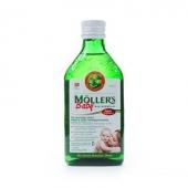 Tran Mollers Baby, naturalny, 250ml