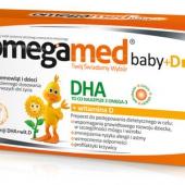 Omegamed Baby+ D, od urodzenia, 30 kapsułek