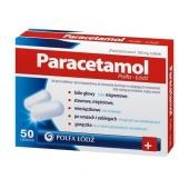 Paracetamol Polfa Łodź, 500mg, 50 tabletek