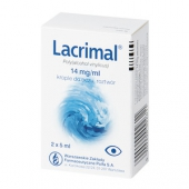Lacrimal, krople do oczu 14mg/ml, 10ml
