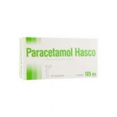 Paracetamol Hasco 125mg, 10 czopków