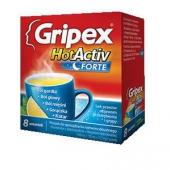 Gripex HotActiv Forte, 8 saszetek