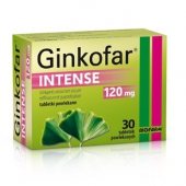 Ginkofar Intense 120mg, 60 tabletek