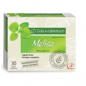 Melisa, zioła w tabletkach, 90 tabletek