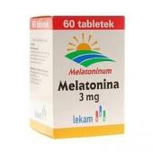 Melatonina 3mg, 60 tabletek