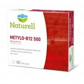 Naturell, Metylo B-12 500, 60 tabletek