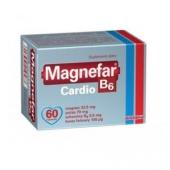 Magnefar B6 Cardio, 60 tabletek