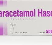 Paracetamol Hasco 500mg, 10 czopków