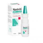 Nasivin Soft 0,05%, aerozol do nosa, 10ml