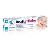 Anaftin Baby, żel na ząbkowanie, 10ml