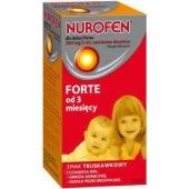 Nurofen dla dzieci Forte, (200mg / 5ml), zawiesina doustna, 50 ml