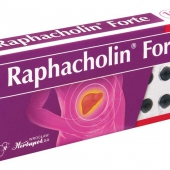 Raphacholin forte, 10 tabletek