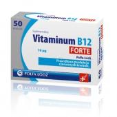 Vitaminum B12 Forte, 10 mcg, 50 tabletek