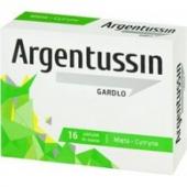 ArgenTussin Gardło, smak miętowo-cytrynowy, 16 pastylek