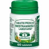 Tabletki przeciwko niestrawności Labofarm, 60 tabletek