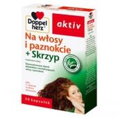 Doppelherz Aktiv Na włosy i paznokcie + skrzyp, 30 tabletek