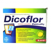 Dicoflor Elektrolity, 12 saszetek