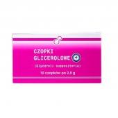 Czopki glicerolowe LGO, 2g, 10 sztuk