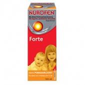 Nurofen dla dzieci Forte, zawiesina, smak pomarańczowy, 100ml