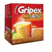 Gripex HotActiv, 8 saszetek