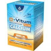 D-Vitum Forte Calcium, 60 tabletek