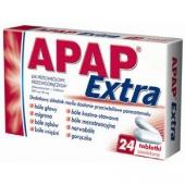 Apap Extra, 24 tabletki