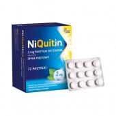 Niquitin 2mg, 72 pastylki
