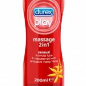 DUREX PLAY, żel 2w1 do masażu, Ylang Ylang, 200ml