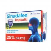 Sinudafen, 75 kapsułek