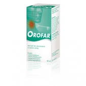Orofar, aerozol do jamy ustnej, 30ml