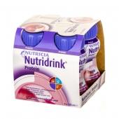 Nutridrink Protein o smaku truskawkowym, 125ml (1 sztuka)