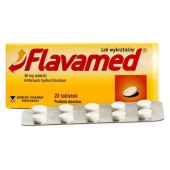 Flavamed 30mg, 20 tabletek